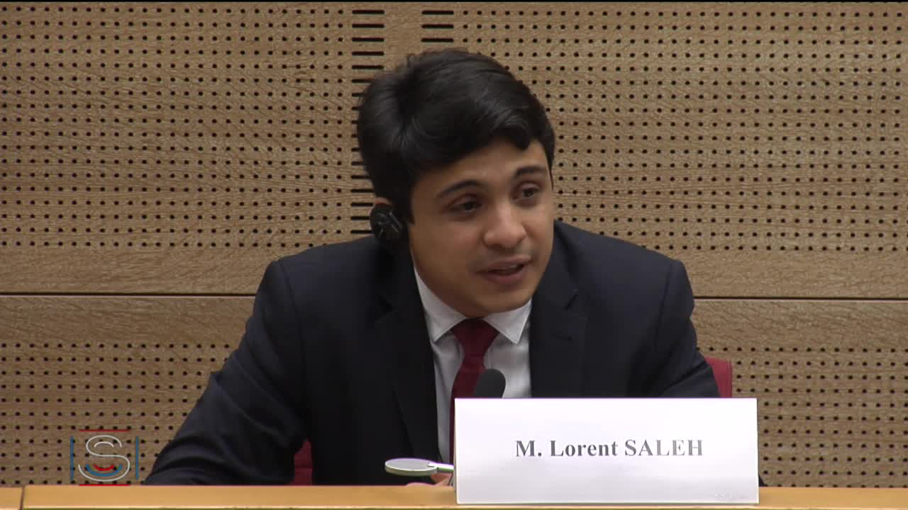 Audition de M. Lorent Saleh, prix Sakharov, sur la situation au Vénézuela
