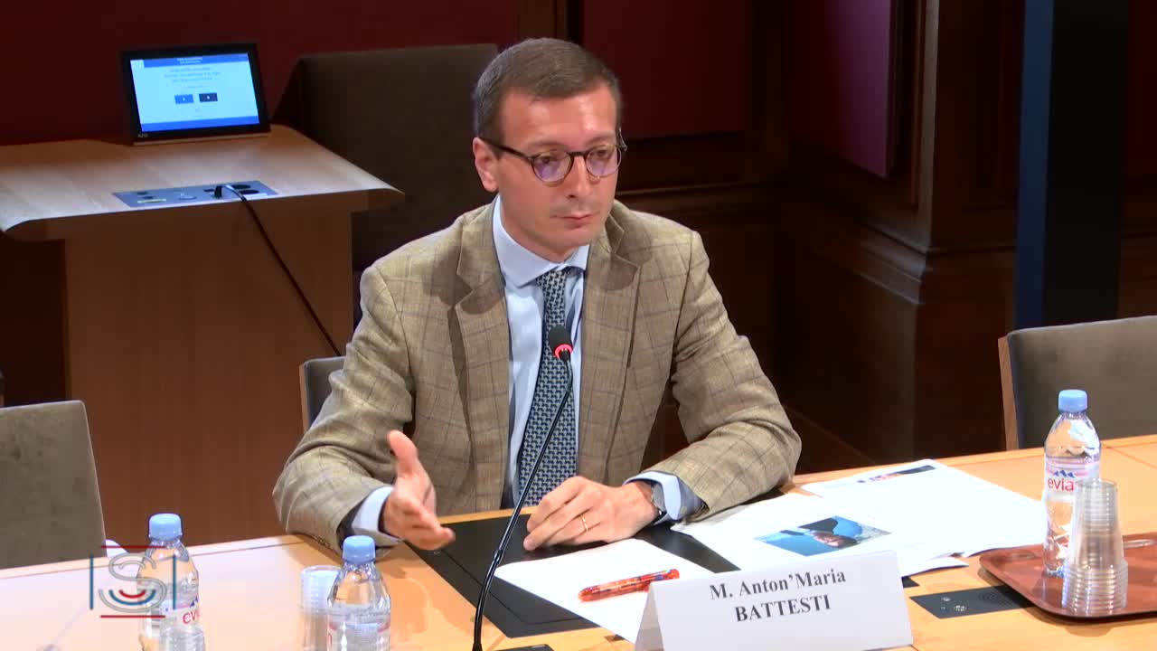 Audition de M. Anton'Maria Battesti, responsable des affaires publiques de Facebook