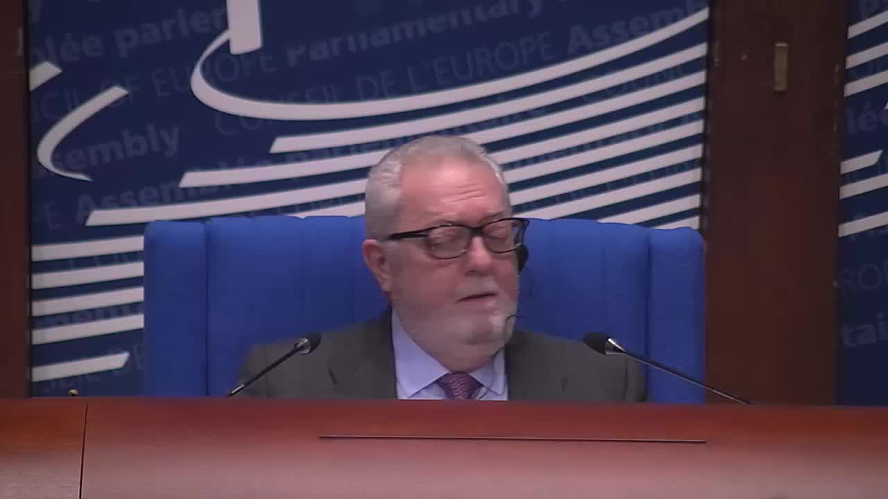 1ère partie de la session ordinaire de 2017 de l'Assemblée parlementaire du Conseil de l'Europe (23/01/2017 - 27/01/2017) - Intervention de Bernard FOURNIER