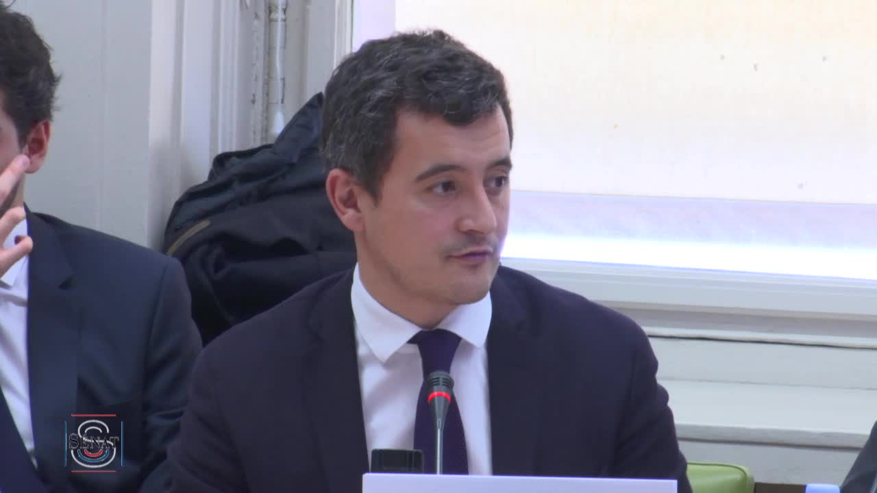 Audition de M. Gérald Darmanin, ministre
